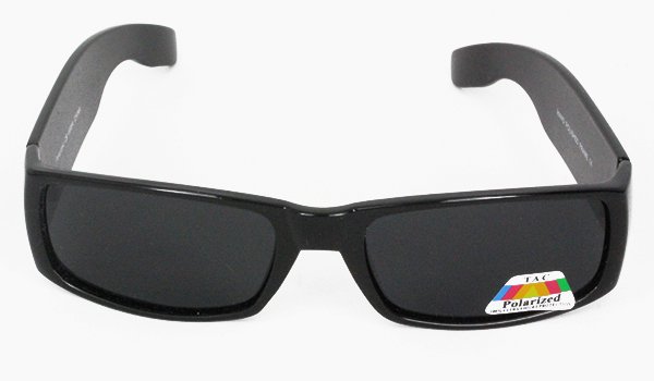 Cool masculine polaroid sunglasses