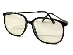 Retro-Brille mit Fensterglas - Design nr. 596