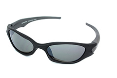 Schwarze Herrensportbrille - Design nr. 643